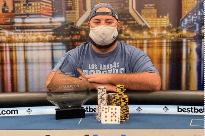 Scott Stewart Claims Victory at the 2021 Bestbet Jacksonville Winter Open Main Event